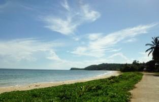 beach looking north - Big Corn Island