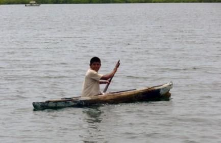 dugout canoe - Isla San Cristobal