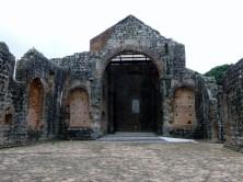 17th century church at Panama Viejo