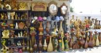 "kitschy ceramics at ""Statue Town"" - La Pila"