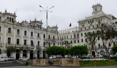 government office buildings around San Simon Plaza - Lima