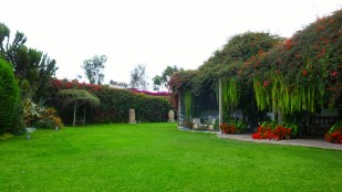 grounds at Museo Larco - Lima