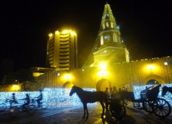 Clock Tower and carriage, Cartagena