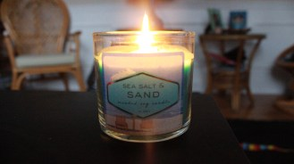Setting the mood with some scents....
