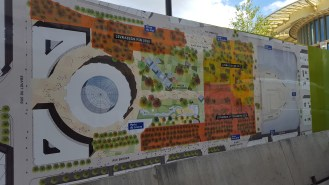 The rest of the plans for Les Halles and the Nelson Mandela park