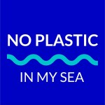 No Plastic In My Sea Logo