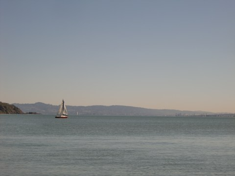 View from Sausolito business lunch.