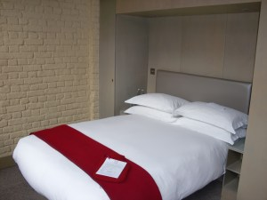 Room 101 is about the same size as its bed.