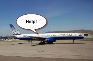 Sadly, you are stuck on United airlines.