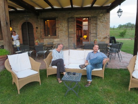 Eventually, in spite of Sabato in Italia, we made it to Tenuta Serravalle