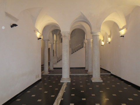 Entrance hall of the apartment