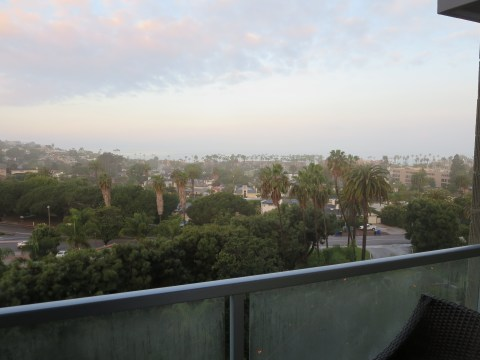 Day from the balcony