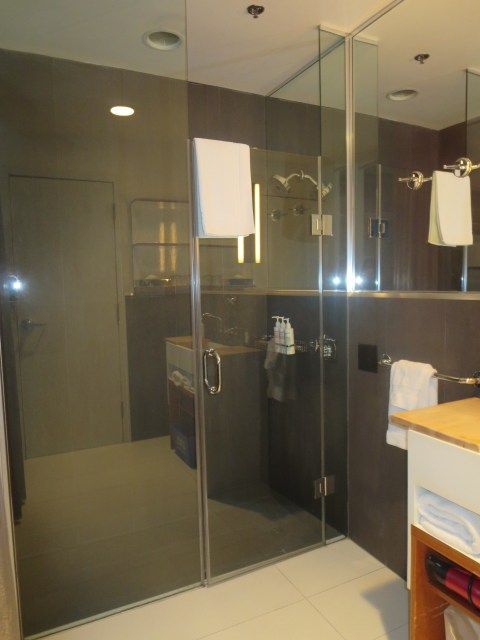 Not a plastic shower to be found at the Drake