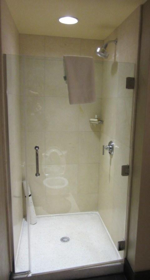 820 shower not plastic