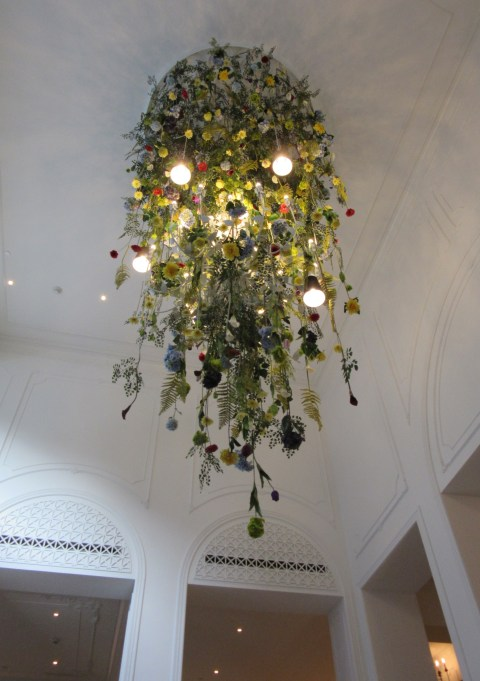 The lobby flowers are upside down.  Monaco Pittsburgh.