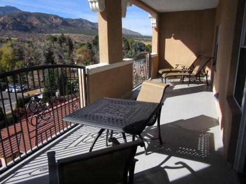 Balcony: Suite 4500, The Broadmoor