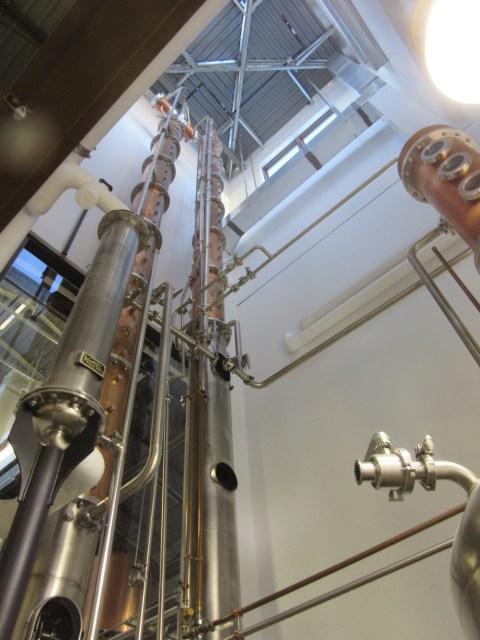 Tower still for vodka production