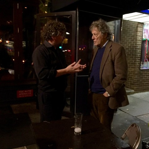 Talking about why Searle's Chinese Room thought experiment is wrong with Tom Stoppard