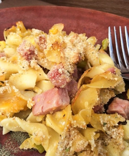 leftover ham recipes pasta