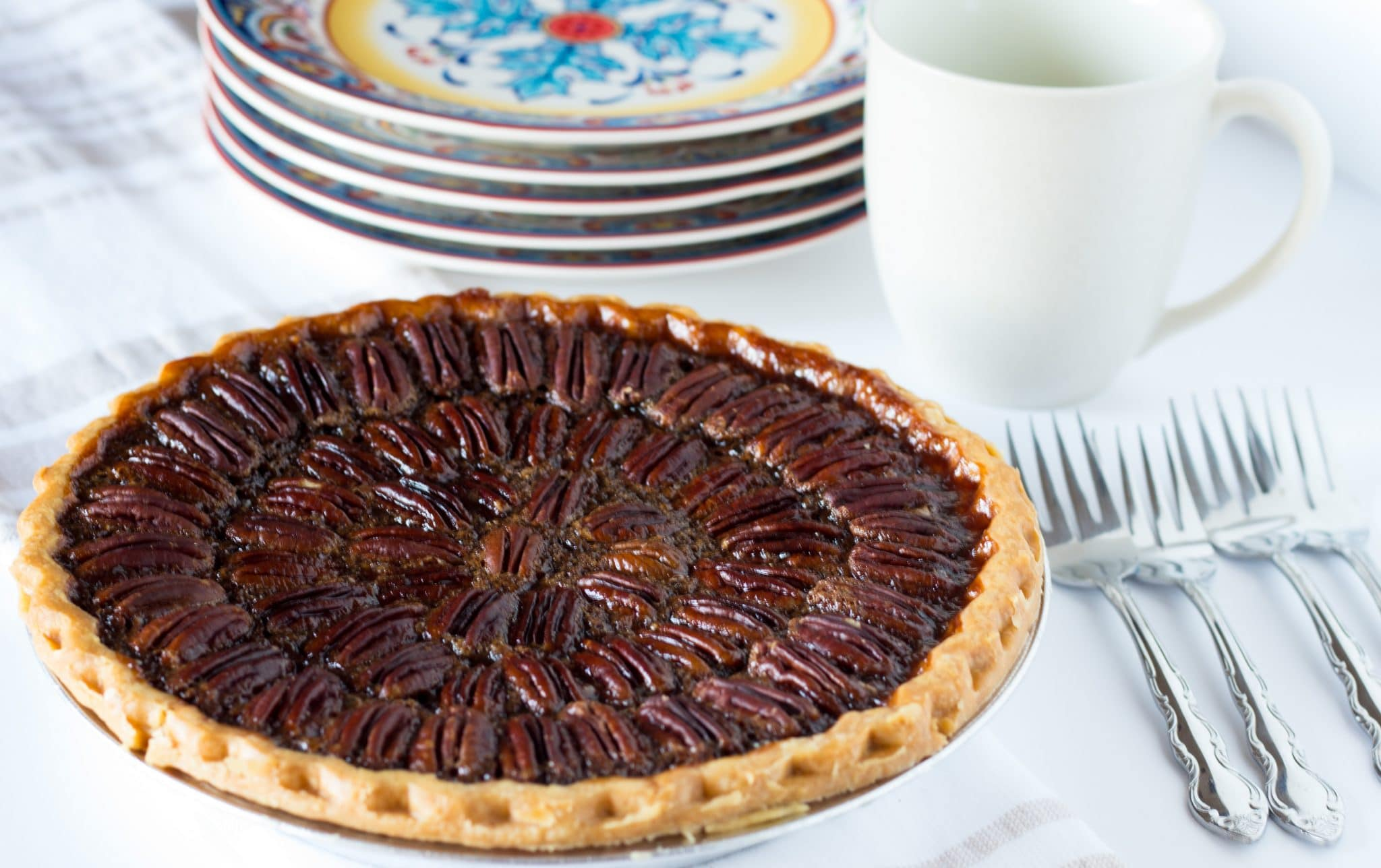 The Best Bourbon Chocolate Pecan Pie Video No Plate Like