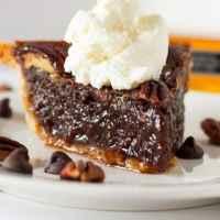 The Best Bourbon Chocolate Pecan Pie + VIDEO