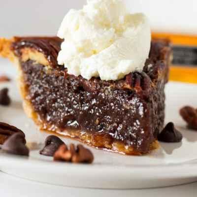 The Best Bourbon Chocolate Pecan Pie