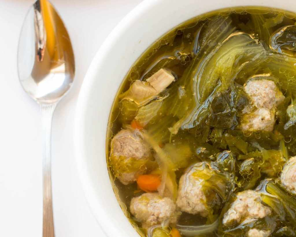 One Pot Homemade Italian Wedding Soup