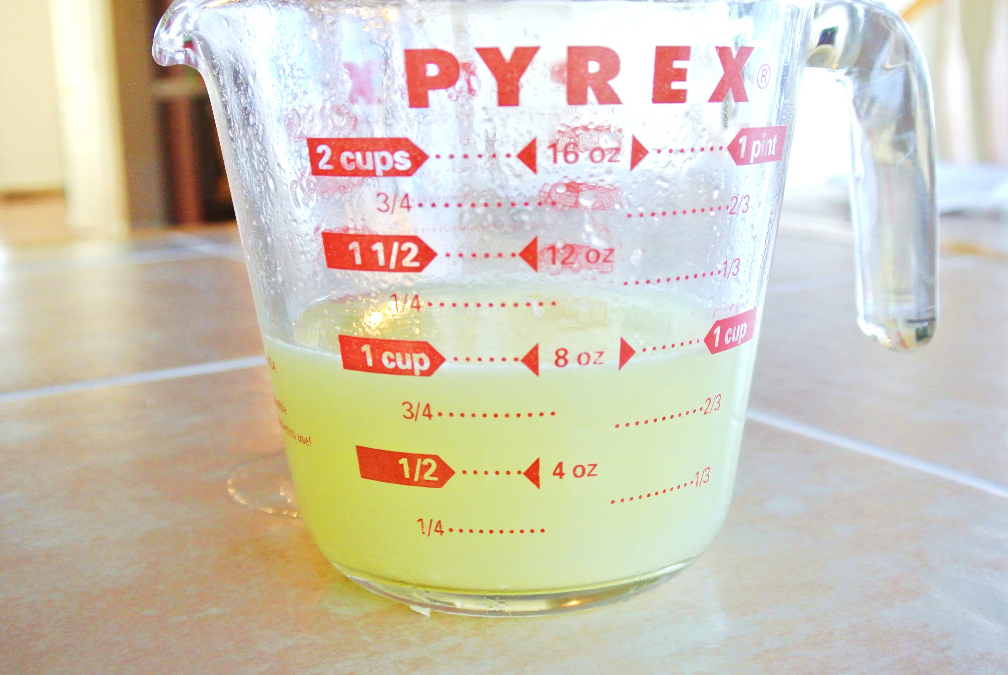 1 cup of freshly squeezed Key Lime juice