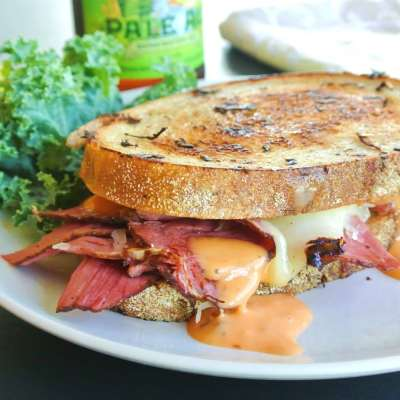 How to Make the BEST Pastrami on Rye Bread Sandwich at Home!