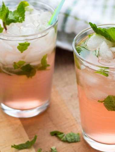 Watermelon Pineapple Mint Mojitos