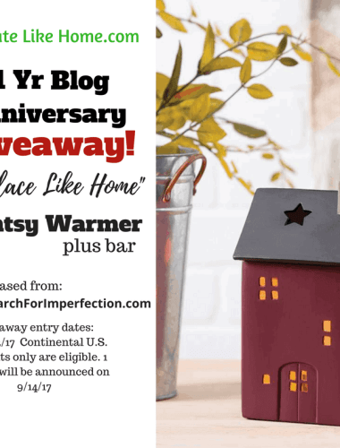 One Year Blog Anniversary Giveaway