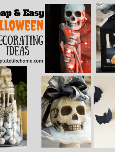 Cheap & Easy Halloween Decorating Ideas