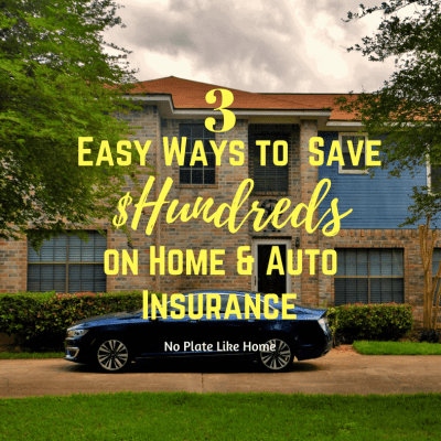 3 Easy Ways to Save Hundreds on Home & Auto Ins