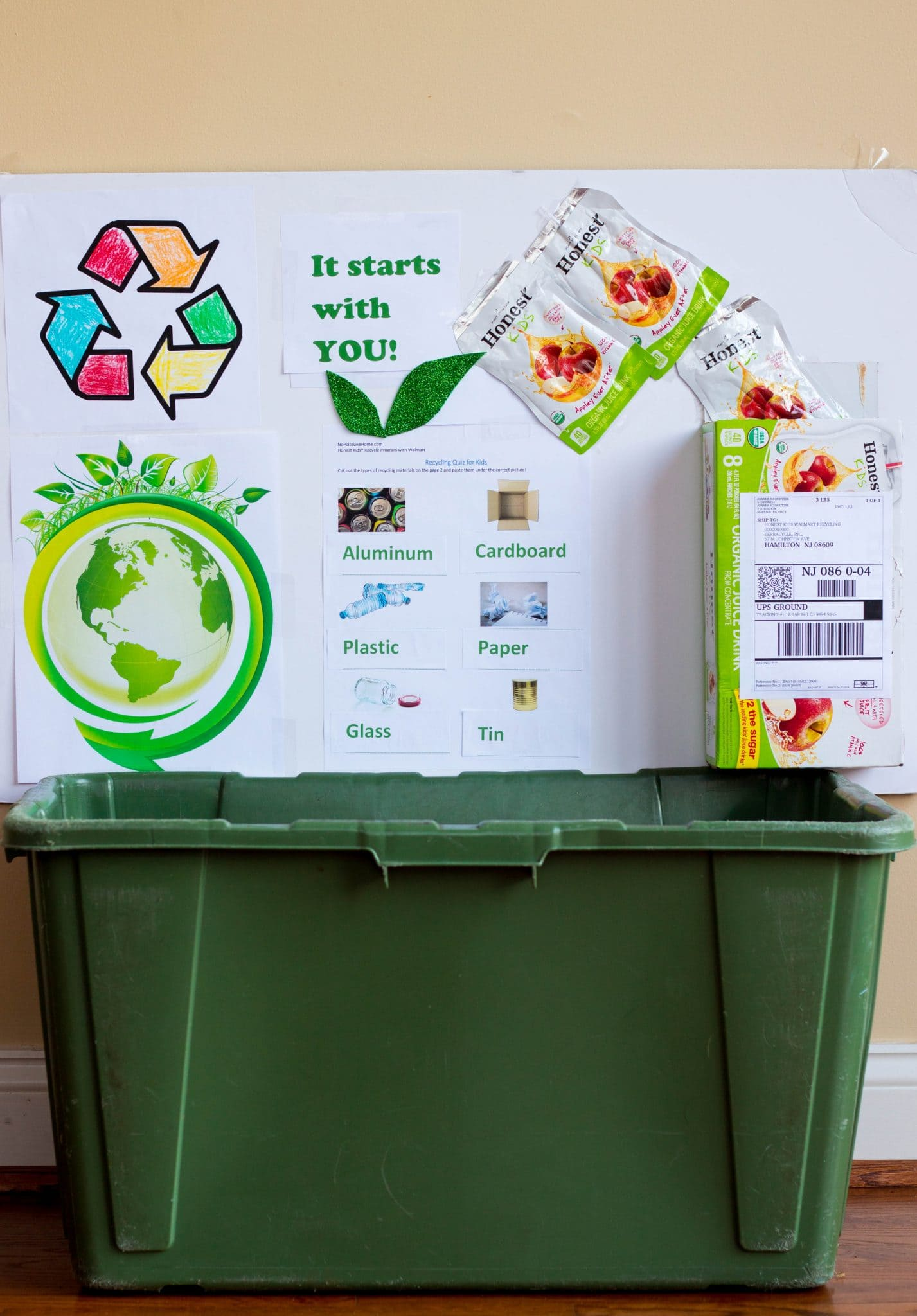 Honest Kids Recycling Tutorial for Kids
