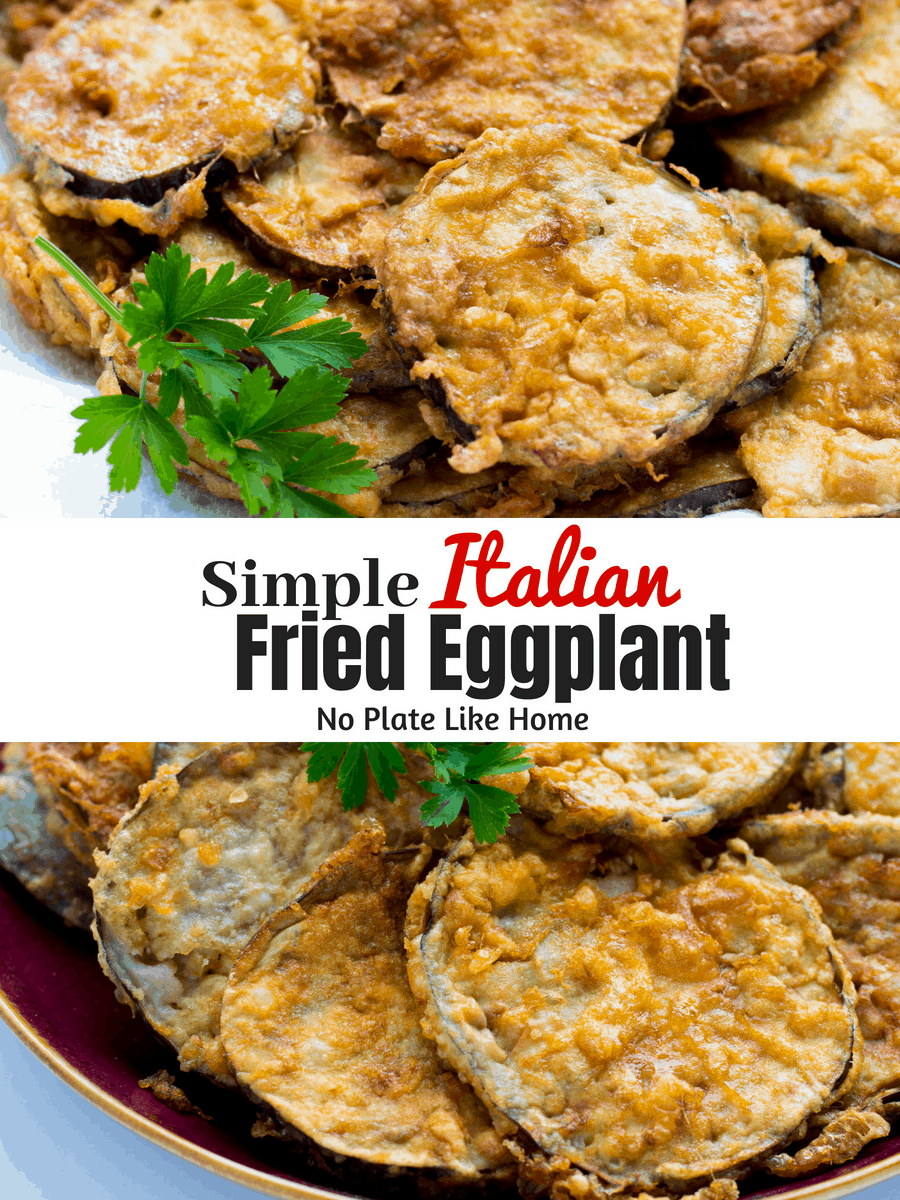 Simple Italian Fried Eggplant