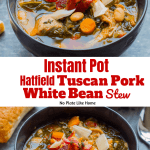 Instant Pot Hatfield Tuscan Pork and White Bean Stew