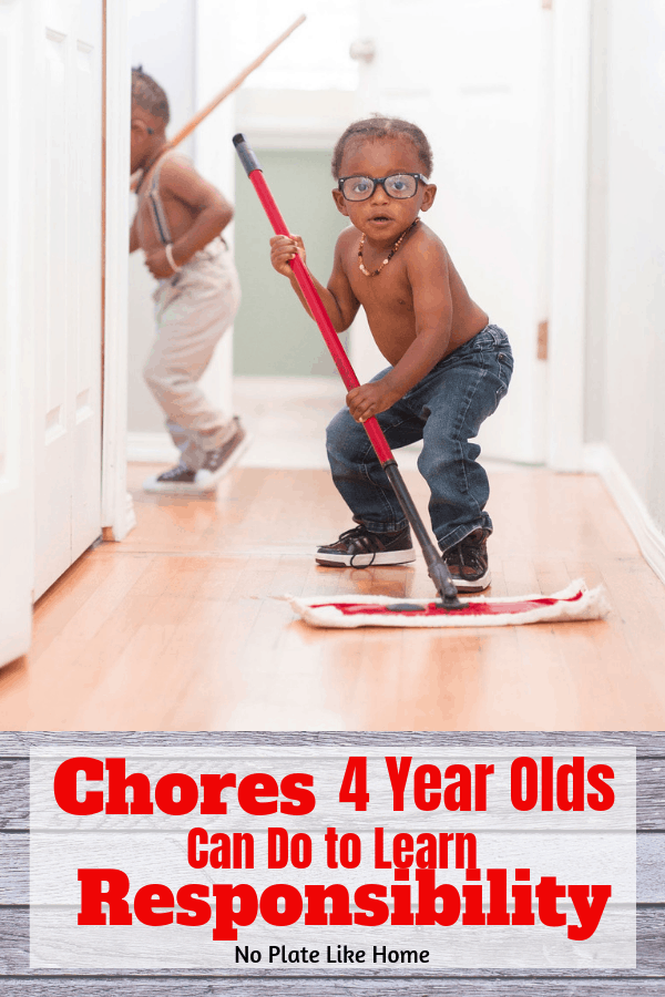 Chores 4 Year Olds Can Do to Learn Responsibility