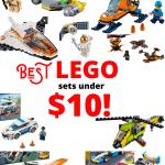 Best LEGO sets Under $10