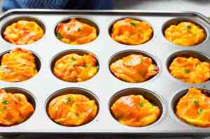 Ham Egg & Gouda Breakfast Muffins