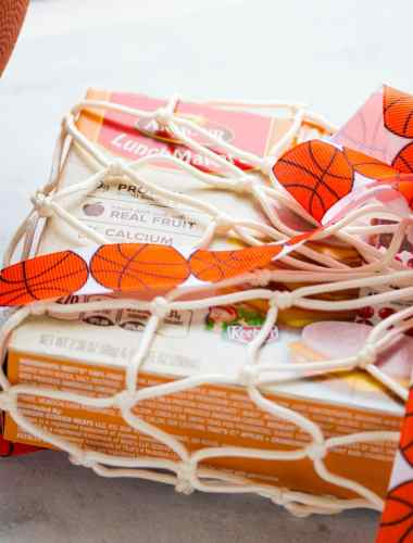 How to Make a Snack Sack with Basketball Netting
