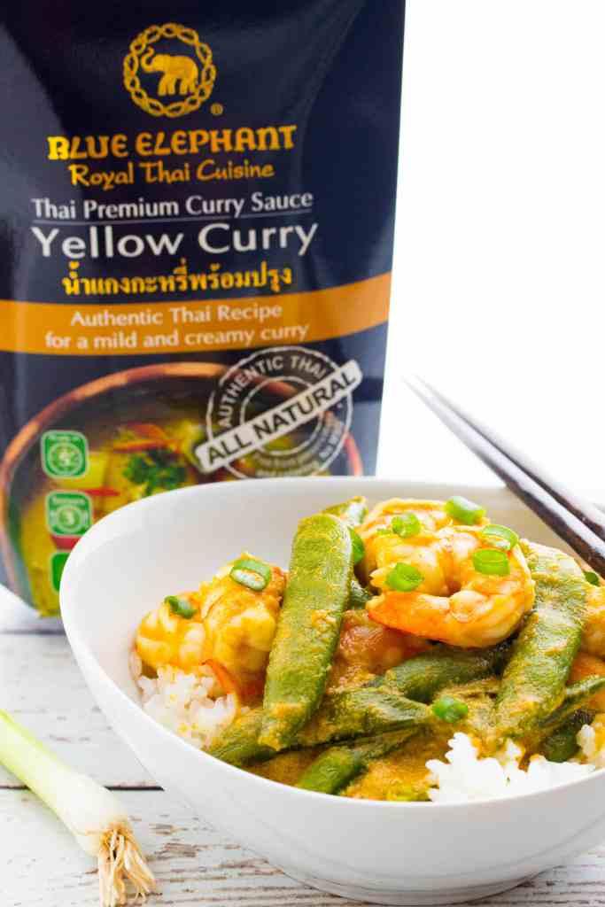 Thai Coconut Curry Shrimp & Rice