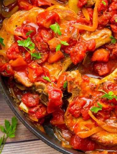 Pork Chops alla Pizzaiola
