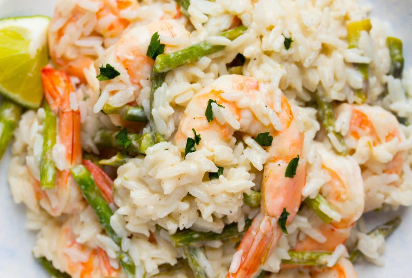 Coconut Lime Shrimp & Rice