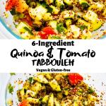 Quinoa & Tomato Tabbouleh