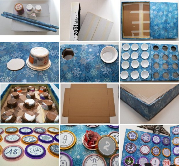 Step by Step Adventskalender