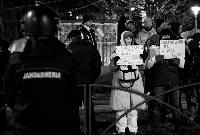 Manifestatii Piata Universitatii Bucuresti foto