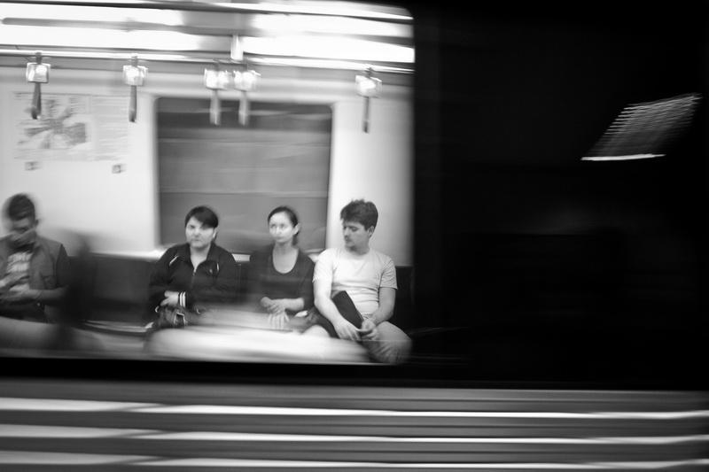metrou bucuresti foto blur