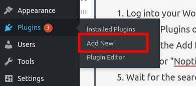 add new plugin link