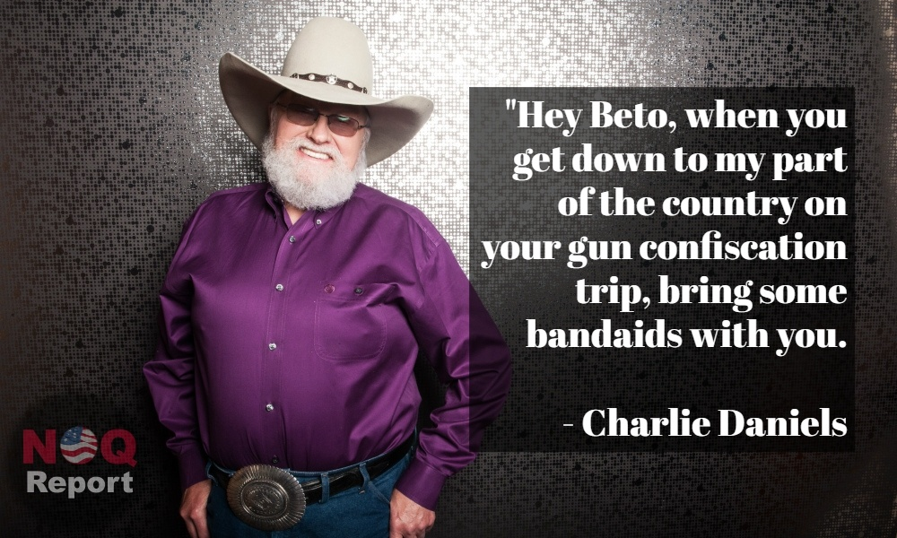 """Charlie Daniels Quote: """"I love my country. I love my guns ... 