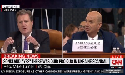 This is the real bombshell from the Sondland testimony the media wants buried